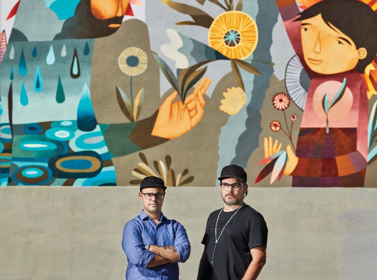Pedro Barrios and Jaime Molina- Denver Artists