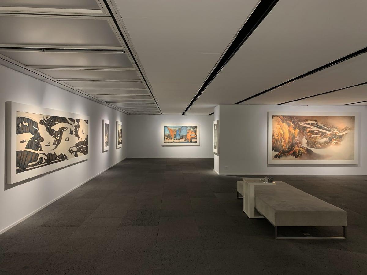 Galerie Du Monde One Art Group Pioneers Of Ink Art Installation View 1