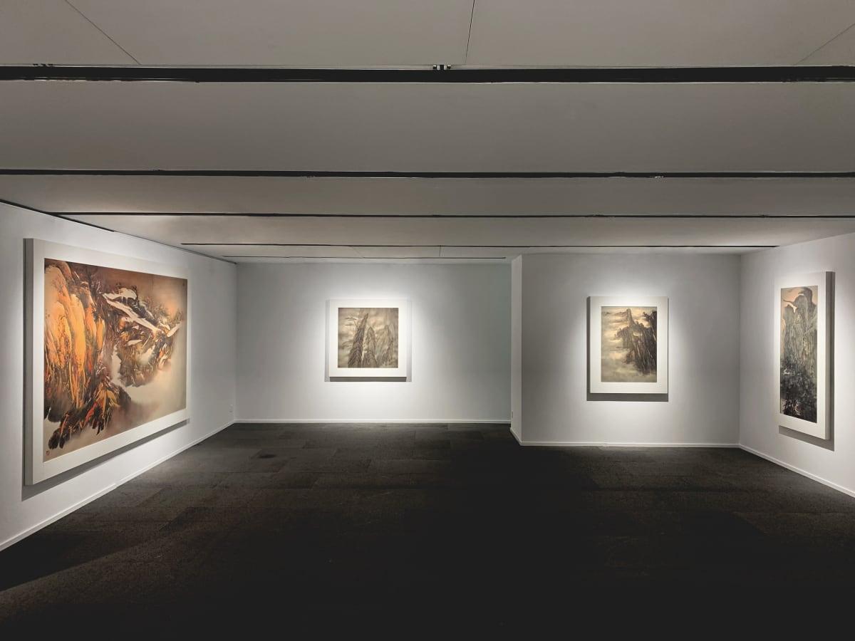 Galerie Du Monde One Art Group Pioneers Of Ink Art Installation View 2