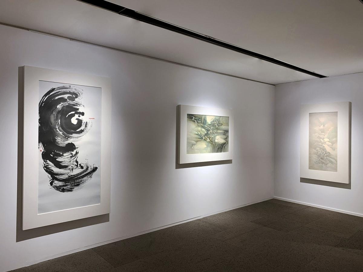 Galerie Du Monde One Art Group Pioneers Of Ink Art Installation View 4