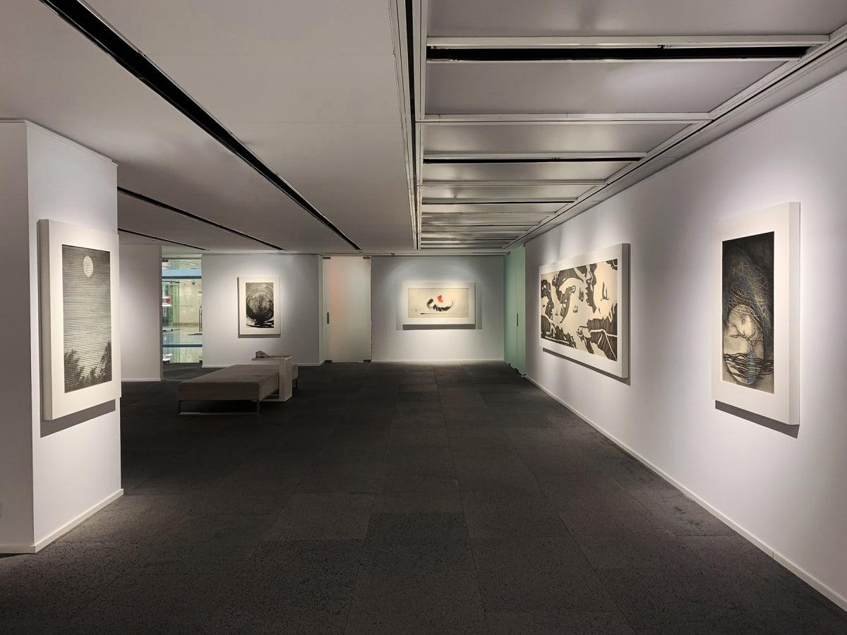 Galerie Du Monde One Art Group Pioneers Of Ink Art Installation View 5