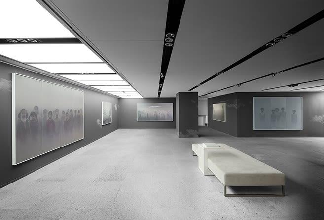 Galerie Du Monde Zhu Yiyong Solo Exhibition 2016 1