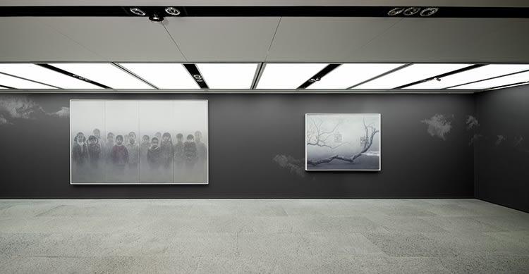 Galerie Du Monde Zhu Yiyong Solo Exhibition 2016 2