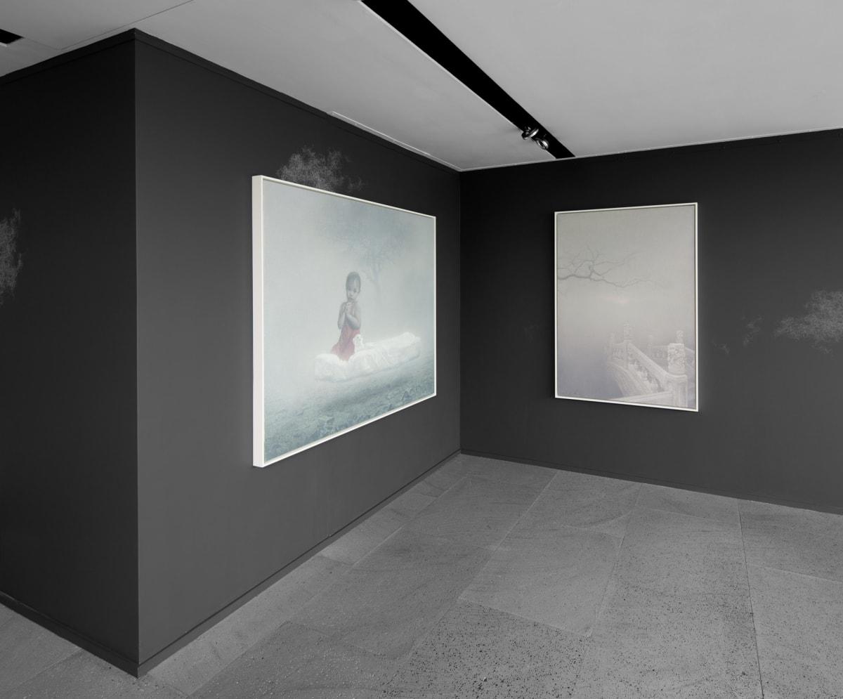 Galerie Du Monde Zhu Yiyong Solo Exhibition 2016 3