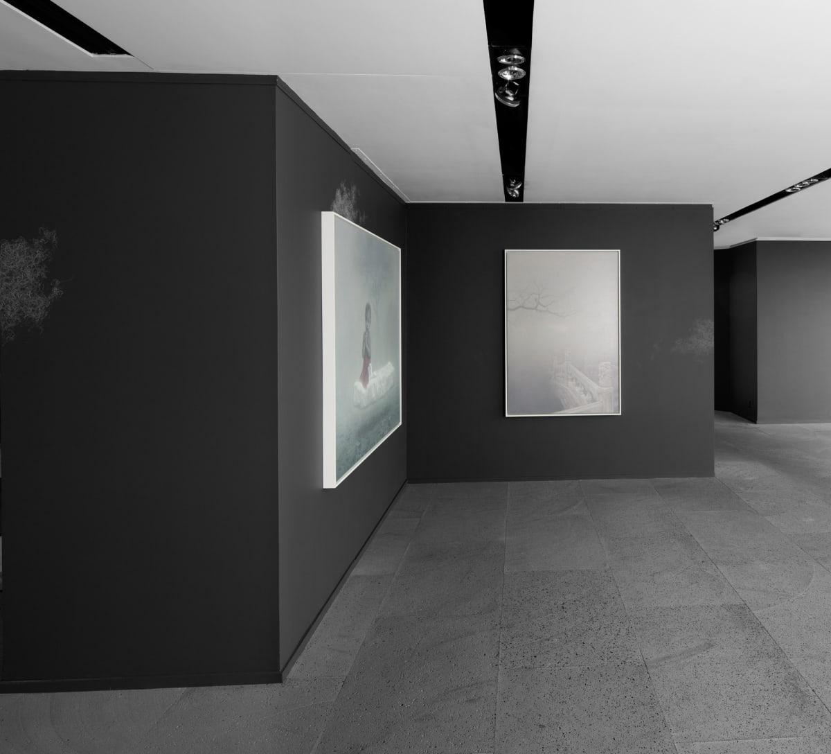 Galerie Du Monde Zhu Yiyong Solo Exhibition 2016 4
