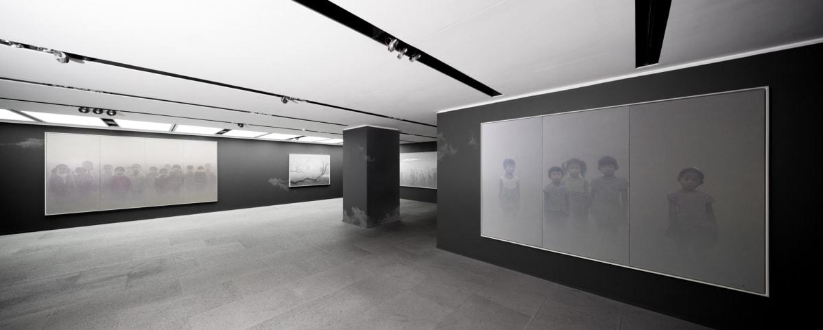 Galerie Du Monde Zhu Yiyong Solo Exhibition 2016 5