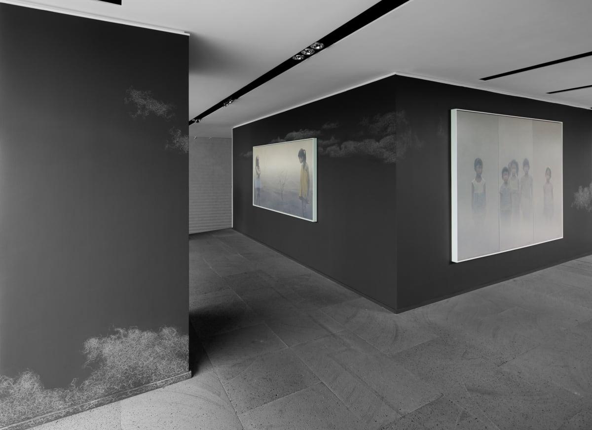 Galerie Du Monde Zhu Yiyong Solo Exhibition 2016 6