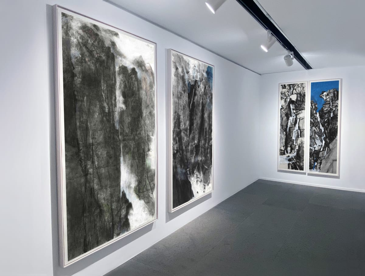 Galerie Du Monde Wang Gongyi Leaves Of Grass Installation View 10