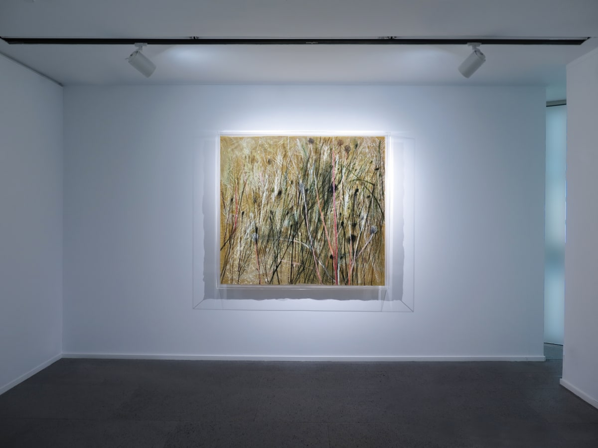 Galerie Du Monde Wang Gongyi Leaves Of Grass Installation View 11