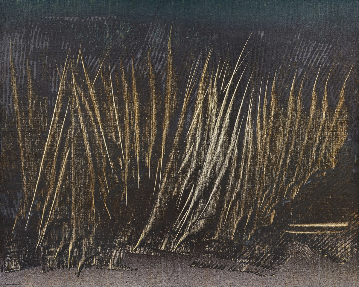 Hans Hartung T1964-E8, 1964 Acrylic on canvas 65 x 81 cm / 25.5 x 33.9 in. 92.5 x 108 cm (framed)