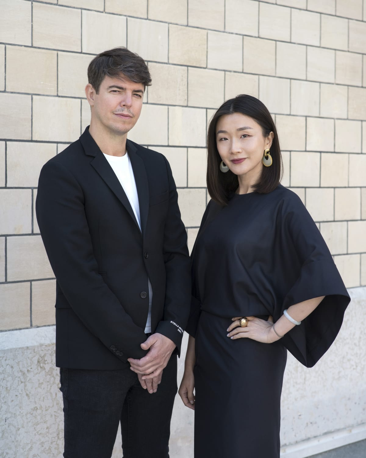 Galerie Marguo founders Jean-Mathieu Martini and Vanessa Guo. Courtesy Galerie Marguo