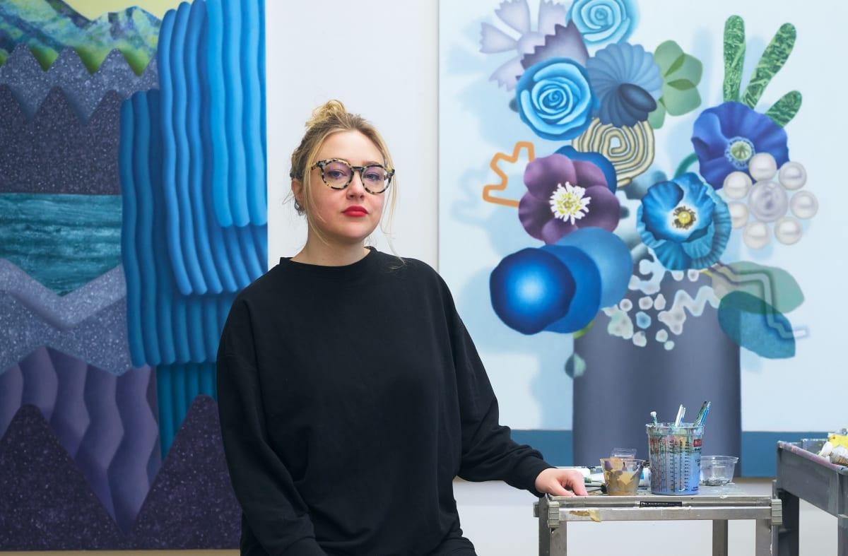 Amanda Baldwin: In the Studio