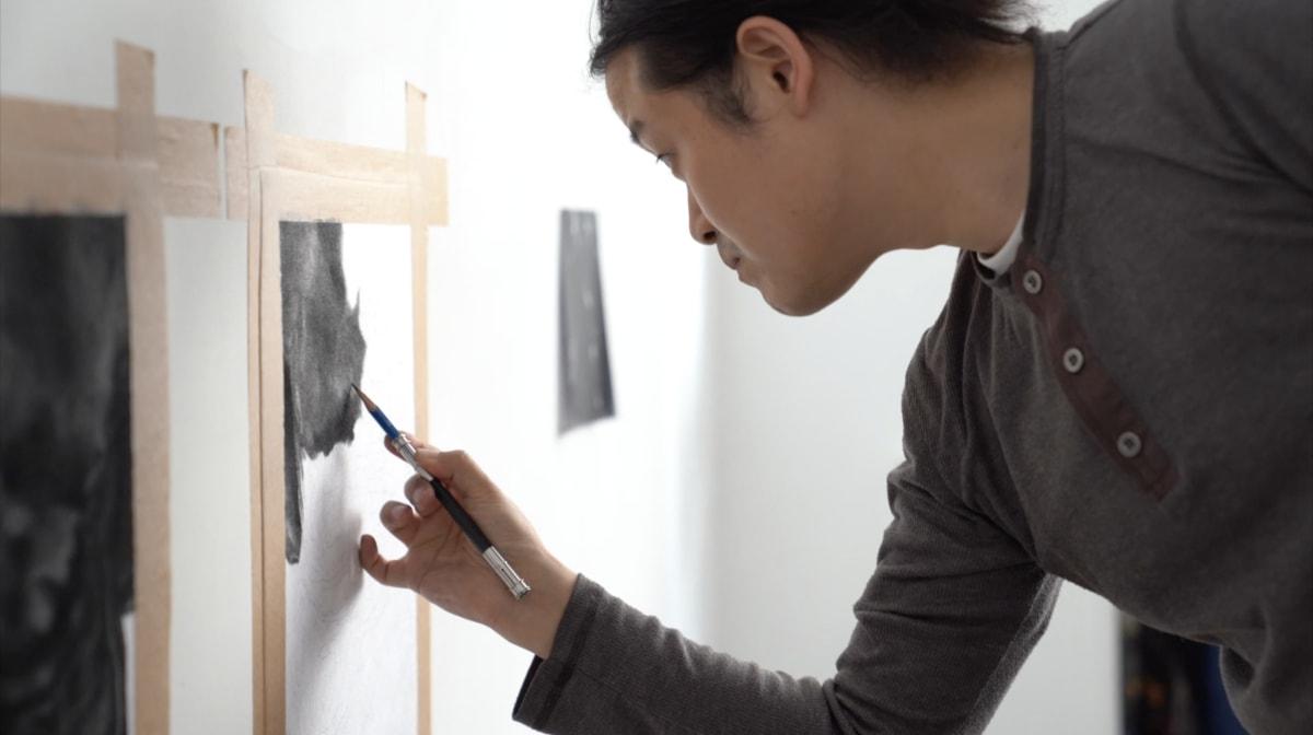 Zhang Yunyao: In the Studio