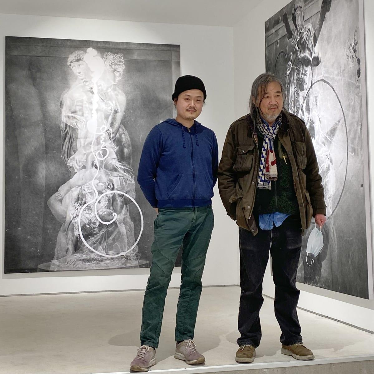 Yan Pei-Ming x Zhang Yunyao Exhibition Walkthrough