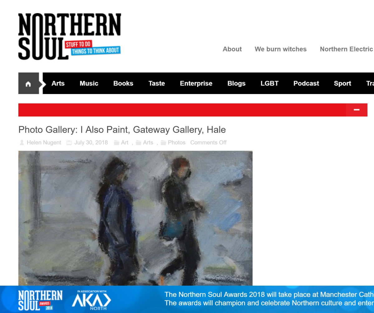 """""""i also paint"""" featured in Northern Soul"""