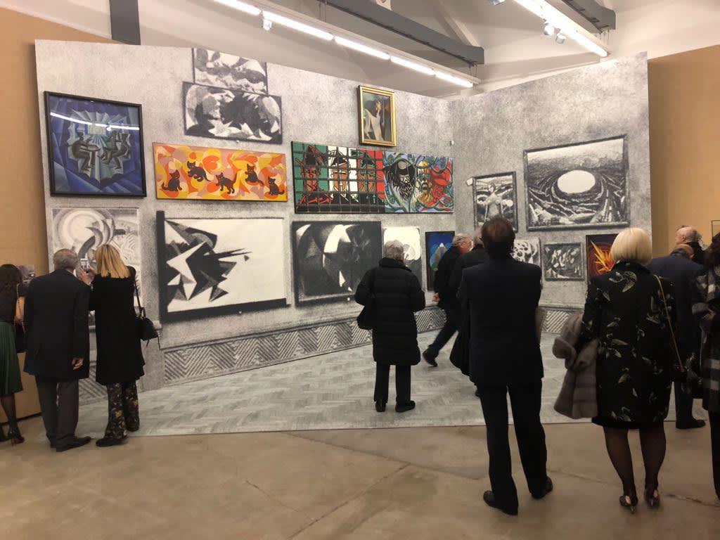Fondazione Prada, Post Zang Tumb Tuuum. Art Life Politics: Italia 1918-1943