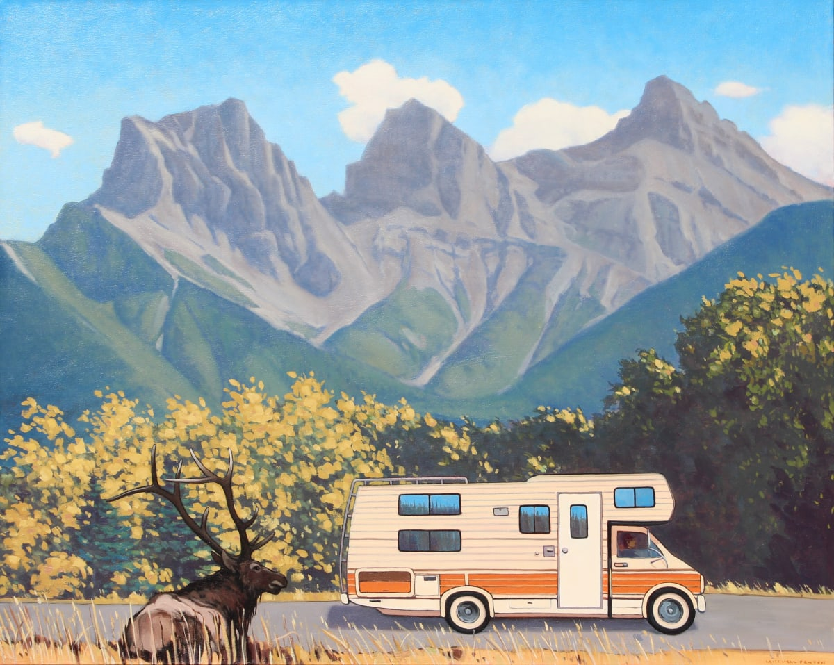 """Mitchell Fenton, The Vintage RV and Trailer show """"The Wild Life awaits you!"""""""