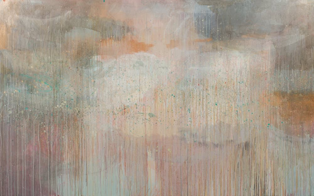 Matt Josef Serenity Rain, 2019 Acrylic on Canvas 60 x 96 in