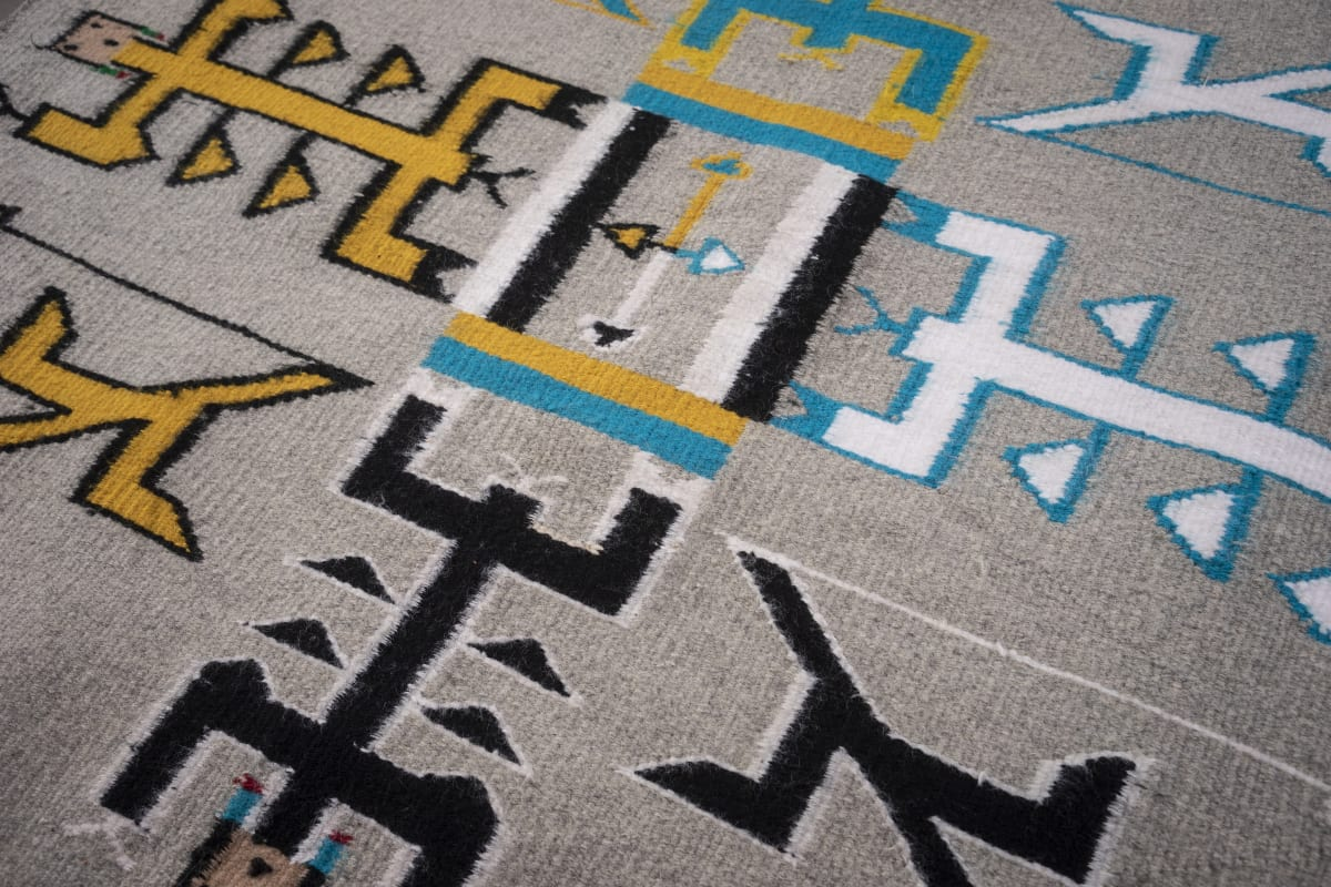 Hand-Crafted Collection Navajo Rugs Circa 1930-1950's