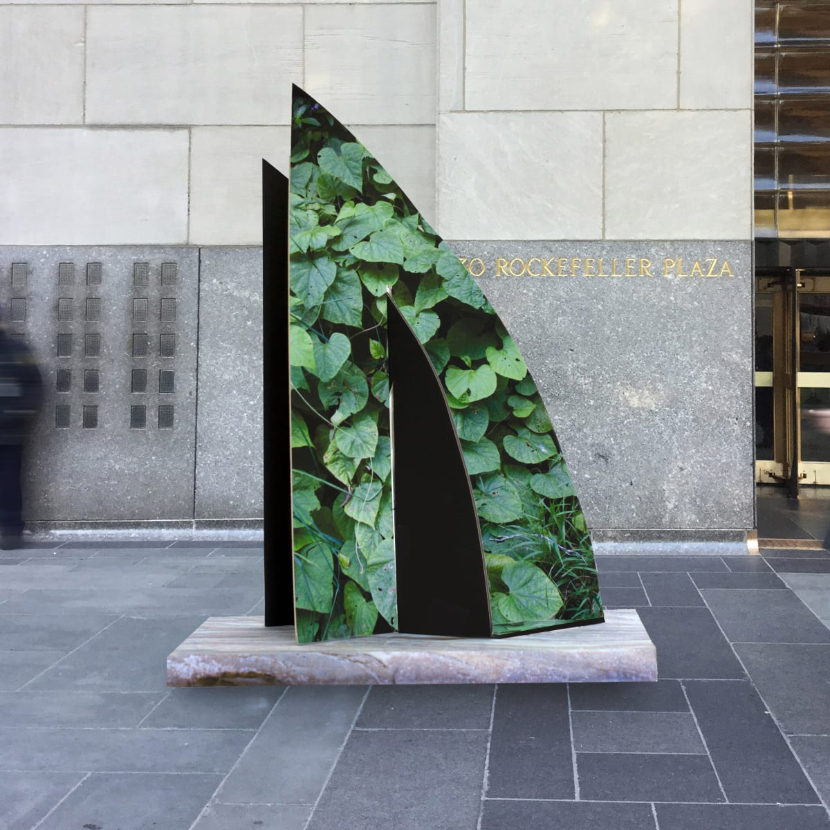 Frieze Sculpture at Rockefeller Center 2020