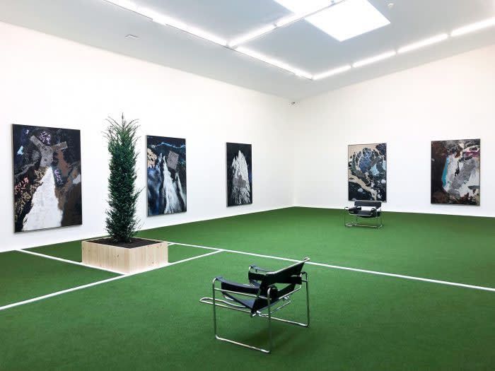 """Matthew Day Jackson – Solo exhibition """"Pathetic Fallacy"""" at Hauser & Wirth Somerset"""