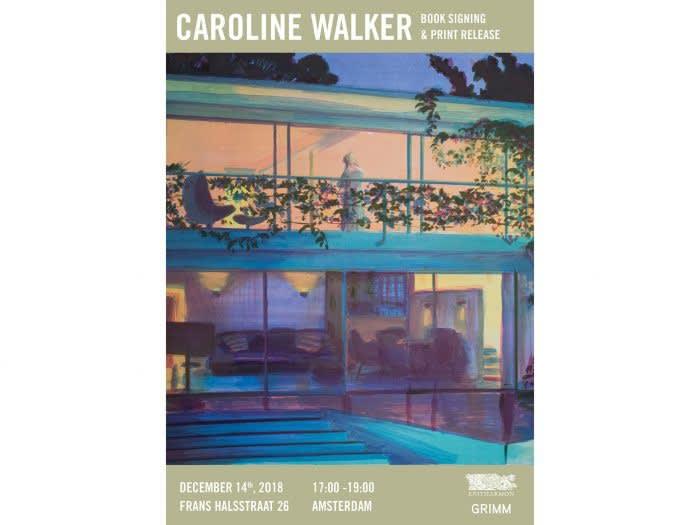 Caroline Walker - Book signing, GRIMM Frans Halsstraat, Amsterdam