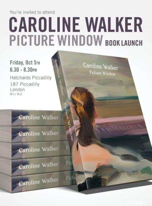 Book launch: Caroline Walker – Picture Window