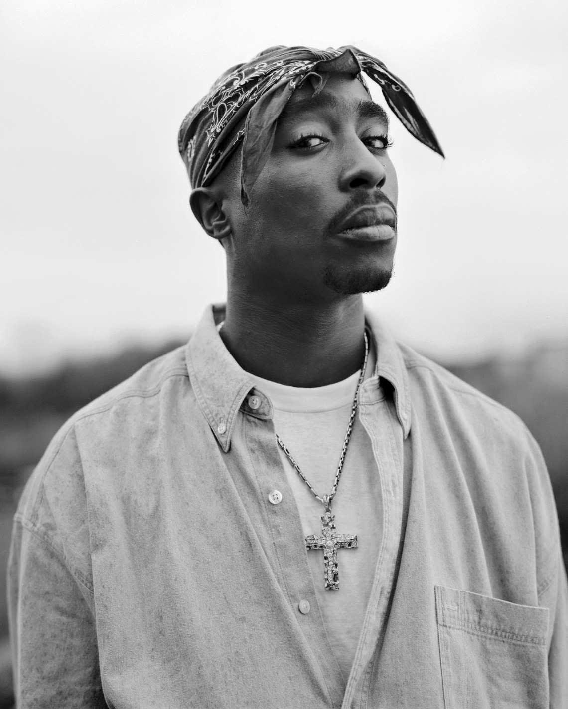 Tupac Shakur, 1993. Photo: Dana Lixenberg