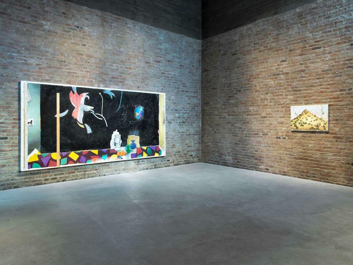 Mit jedem Pinselstrich reflektiert er die Malerei selbst als Medium: Matthias Weischer.FOTO: ROMAN MÄRZ