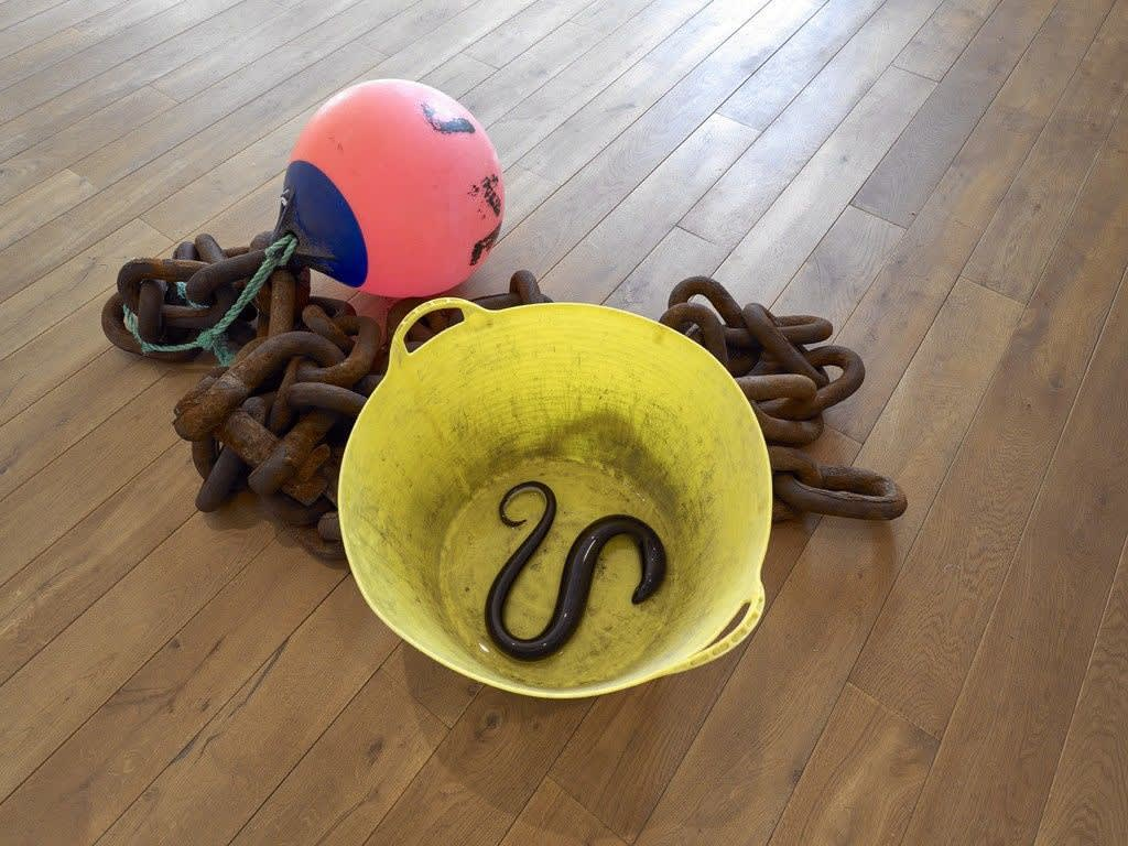 Untitled (Chain, Rope, Bucket, Buoy, Eels), 2015 Ingleby Gallery