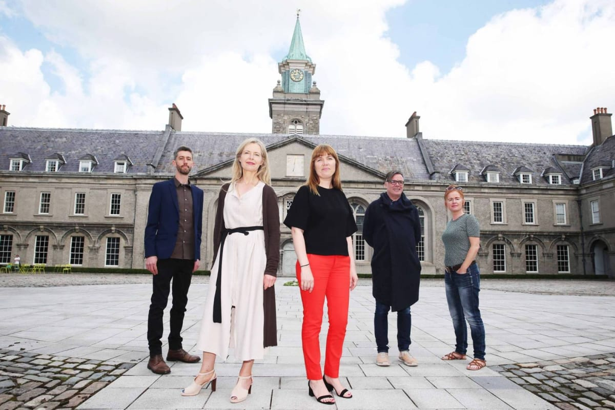 Pictured from left to right: Ciarán Murphy, Mairead McClean, Christina Kennedy, Mark Garry & Elaine Cullen.