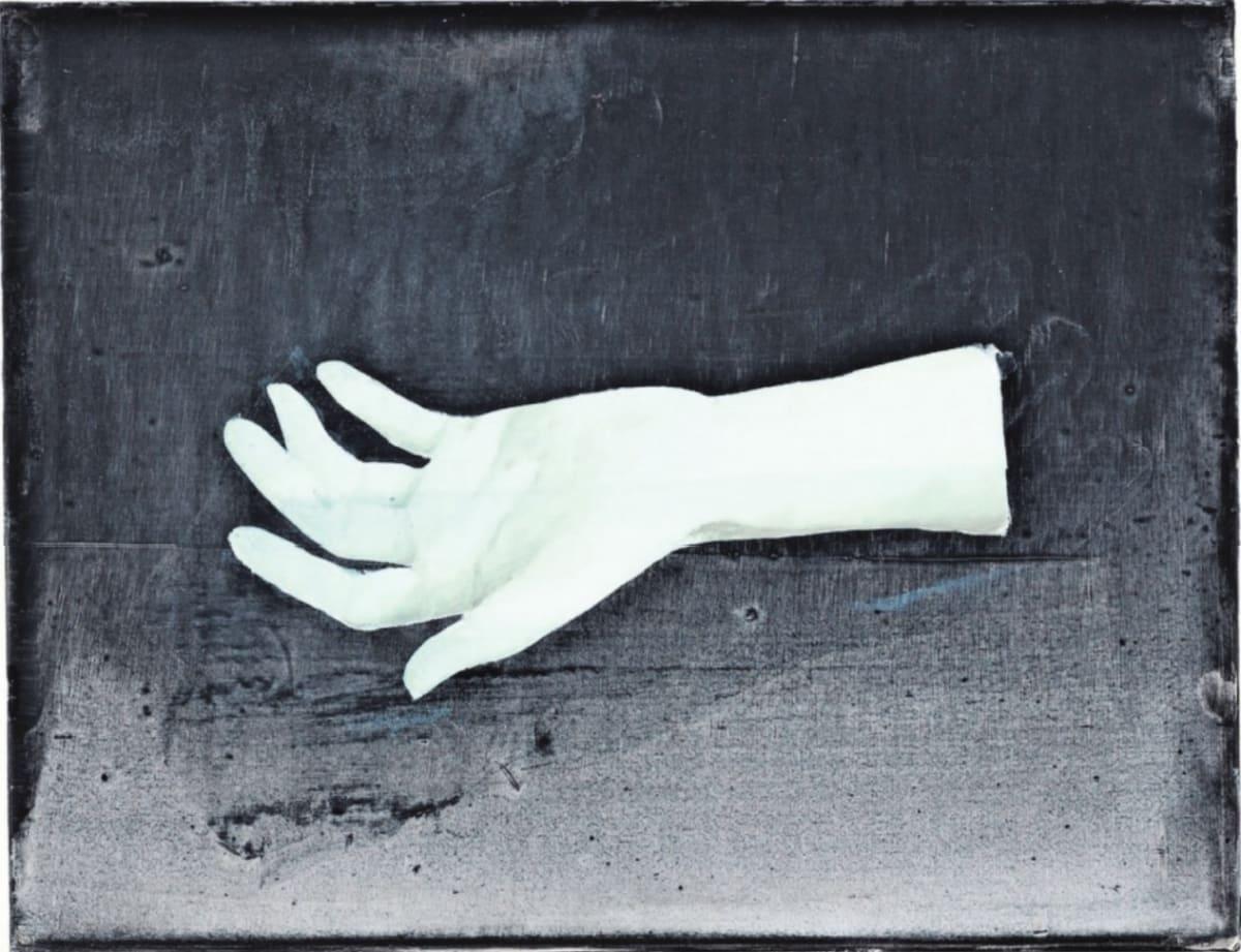 Hand/Wrist (35x45 cm) van Ciaran Murphy het op tegen de wereld