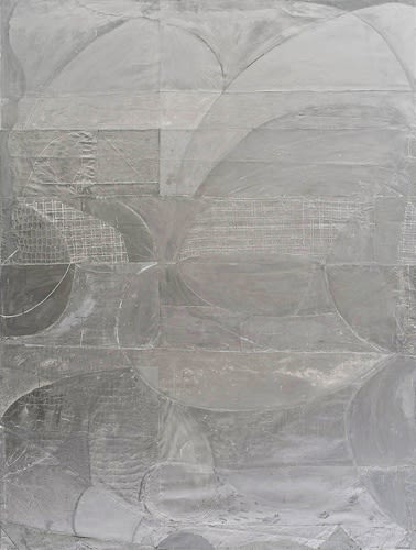 """Volker Hueller, Sie sind unter uns XII (They are among us XII), 2009, mixed media on canvas, 20' 6"""" x 16' 6"""""""