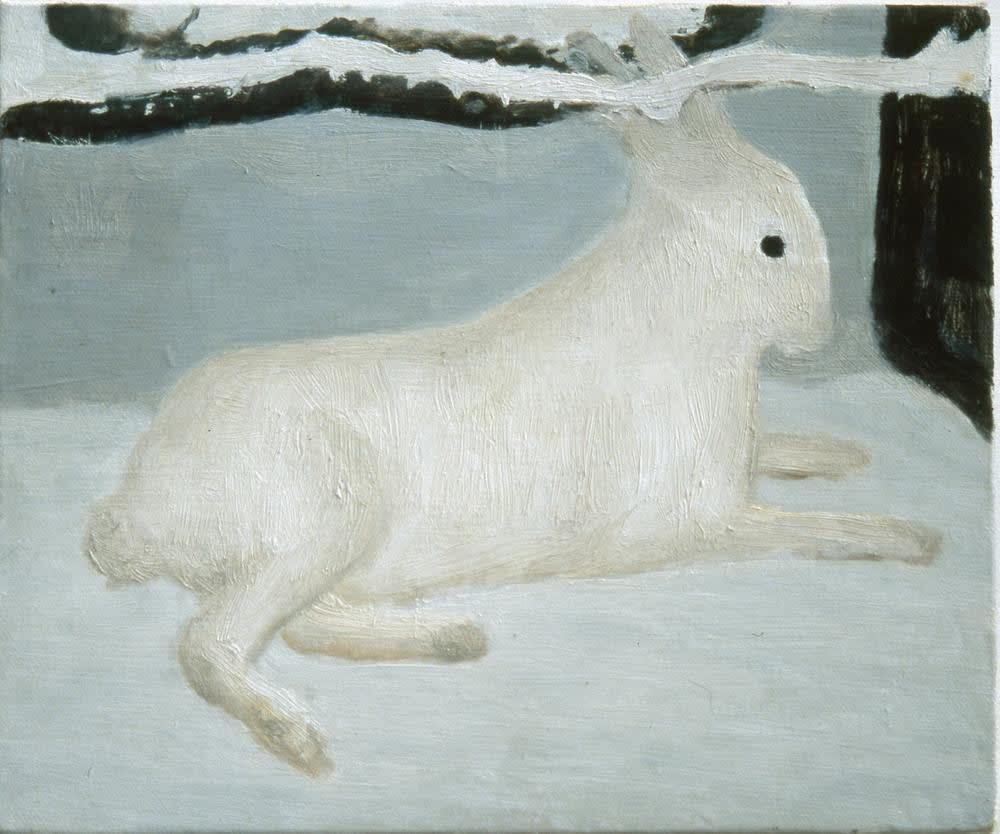 Hare by Ciaran Murphy Oil on canvas