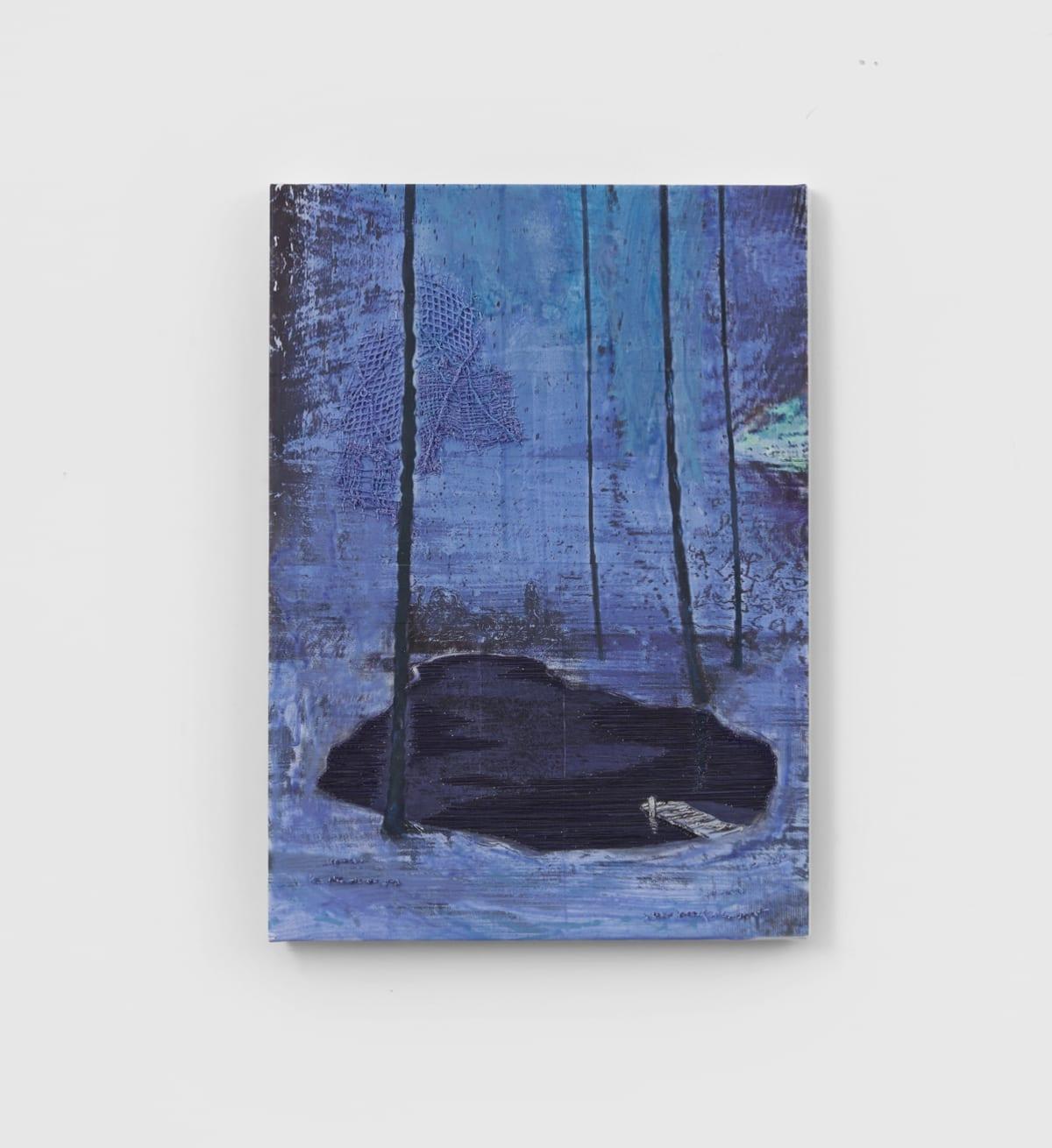 Galerie Grimm toont onheilspellende werken van Michael Raedecker (in Dutch)