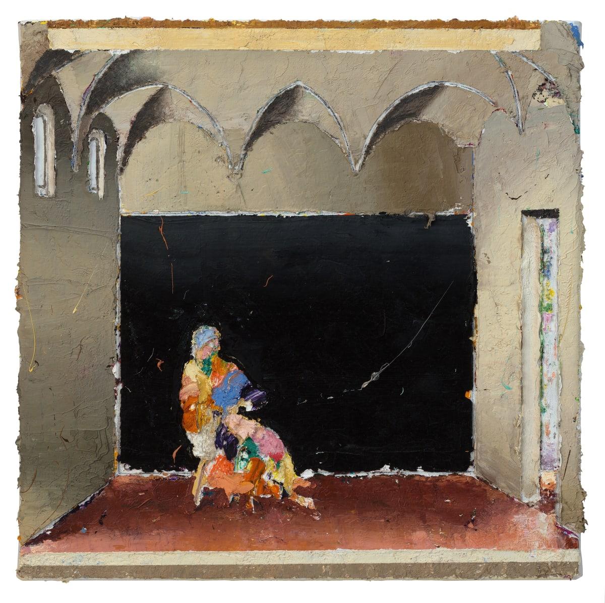 Refractorium 1, 2017 Oil on canvas 48.5 x 48.5 cm 19 1/8 x 19 1/8 in