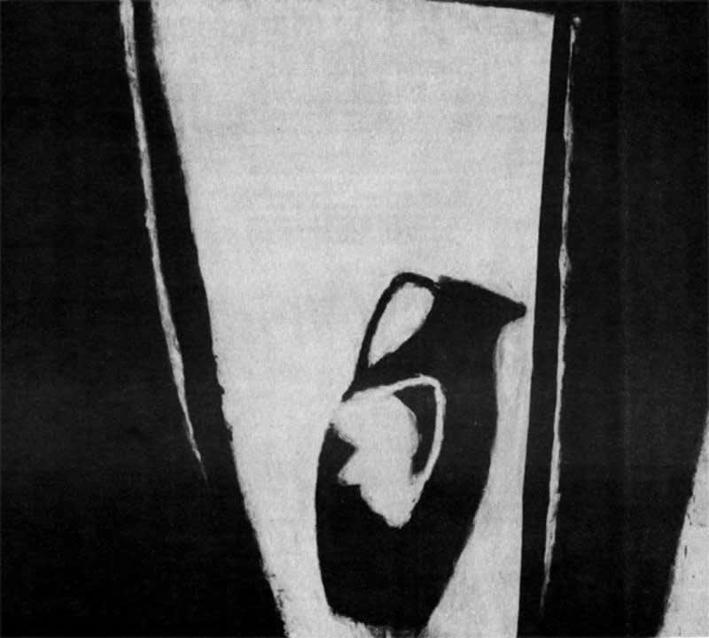 "Susan Rothenberg, Jughead, 1979, acrylic on canvas, 4' 11½"" × 3' 7½"". Photo by Roy M. Elkind. Courtesy of Willard Gallery."