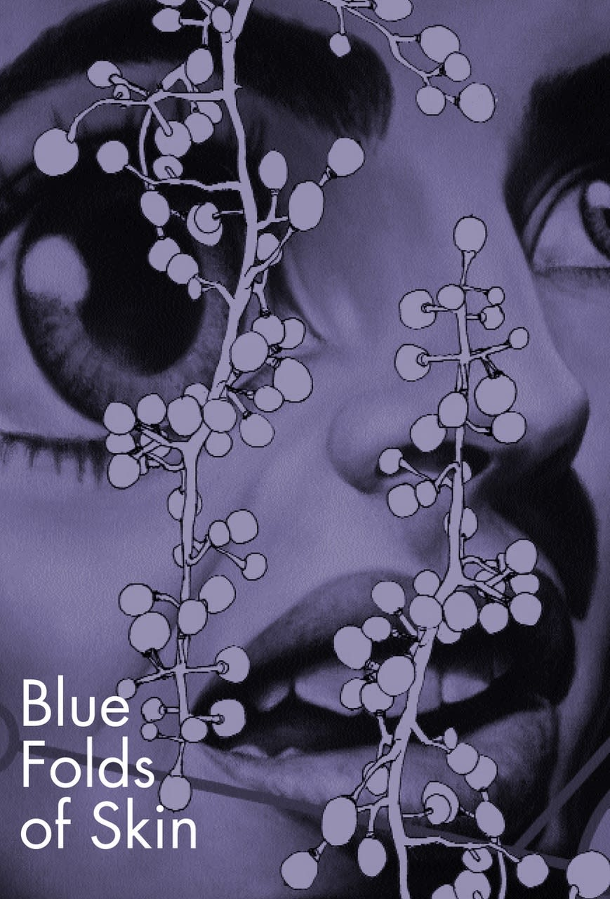 Blue Folds of Skin