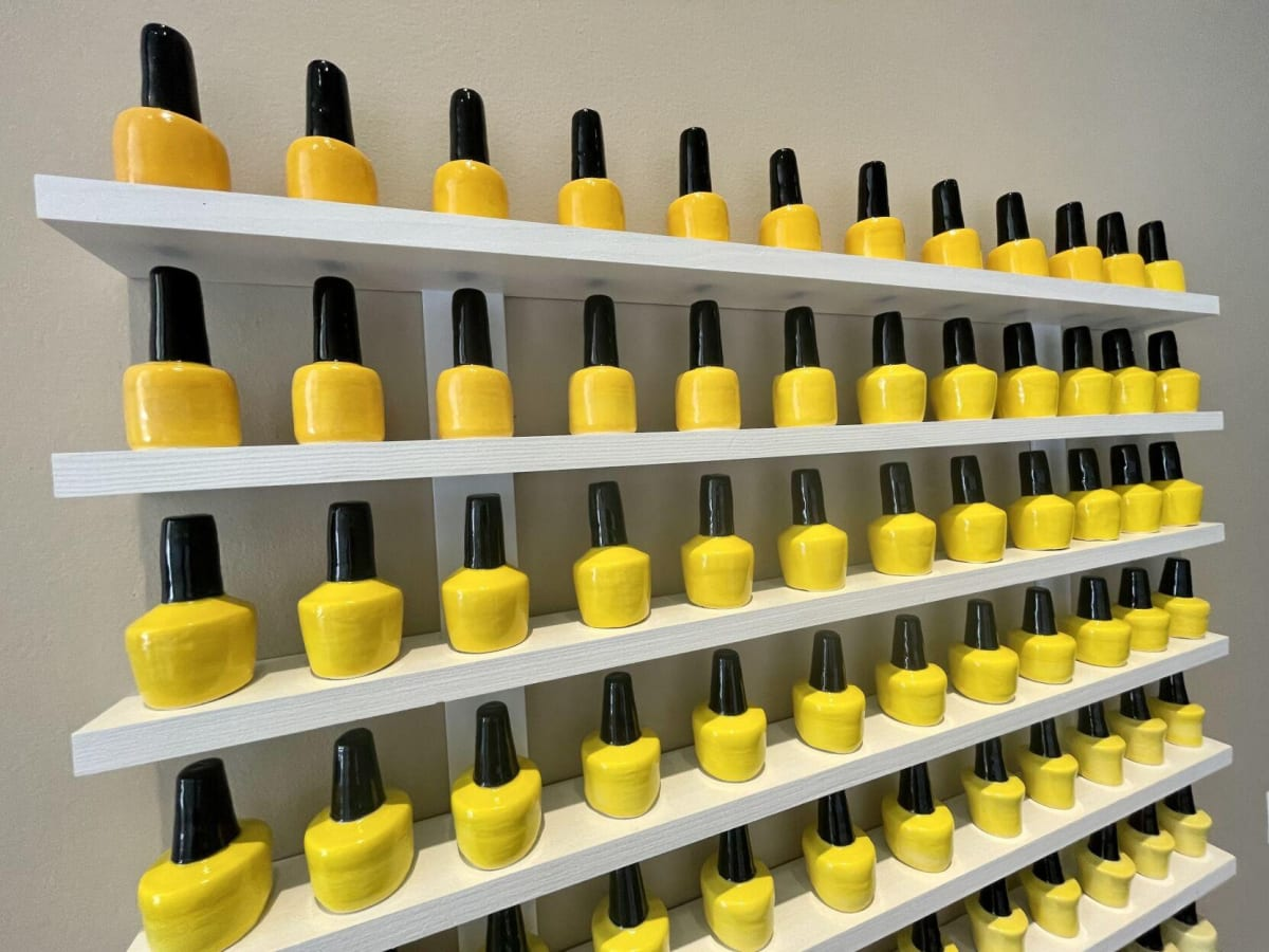 Vietnamese-American artist's 'Nail Salon' exhibit at the Ogden celebrates a success story