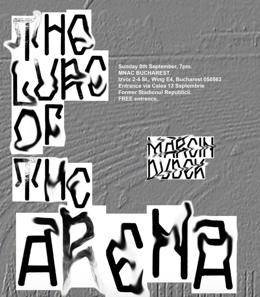 Marcin Dudek in Residency at National Museum of Contemporary Art Bucharest