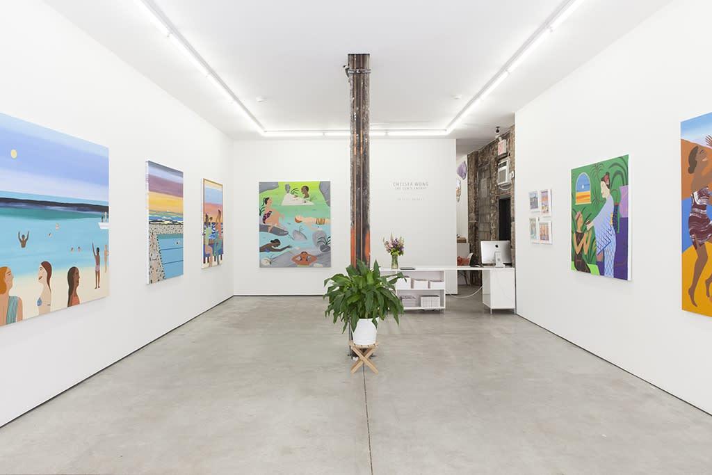 "Installation: Chelsea Wong ""The Sun's Energy"""
