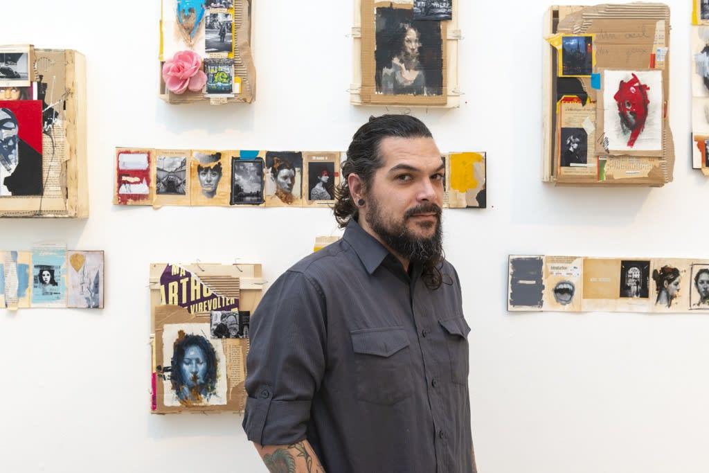 Portrait of artist John Wentz