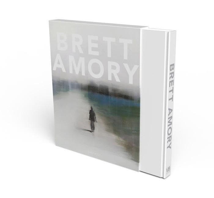 "Cover of ""Brett Amory: The Complete Works and Selected Essays"" book by artist Brett Amory"