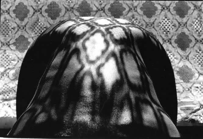 Adger Cowans Lace Figure, c. 1980 Photography 22 x 17