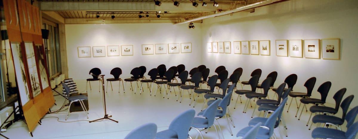 """Zumtobel Staff Gallery venue """"Five Evenings, Five Guests, Five Subjects"""""""