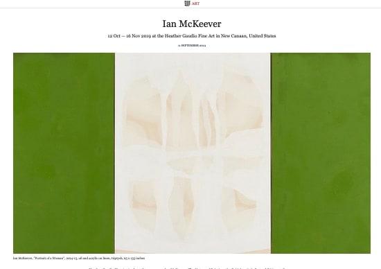 WSI Mag: Ian McKeever