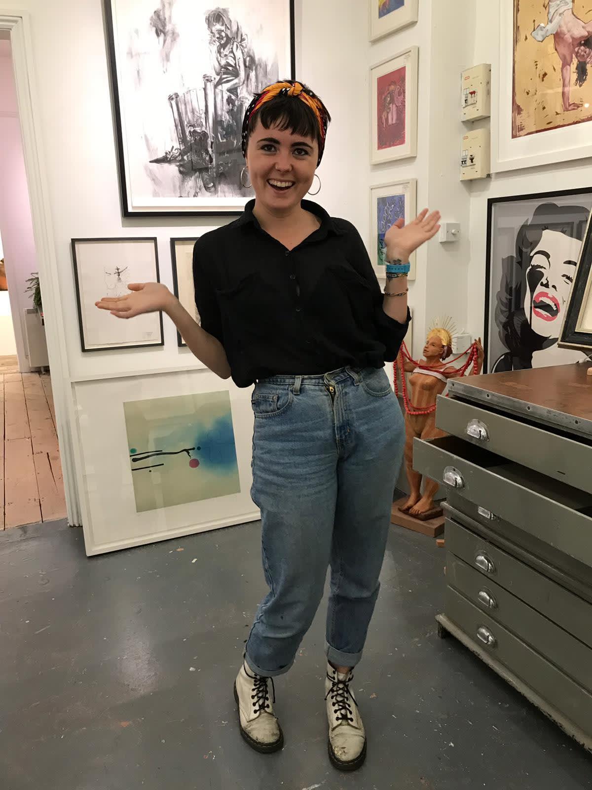 Poppy Boys-Stones, Gallery Manager