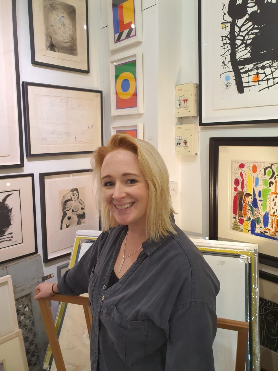 Juliet Holton, Gallery Manager