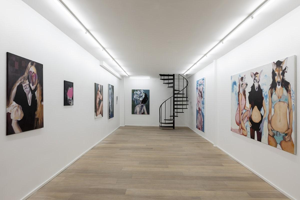 Nathalie Pirotte, Solo Show Pretty Chimeras, Installation view