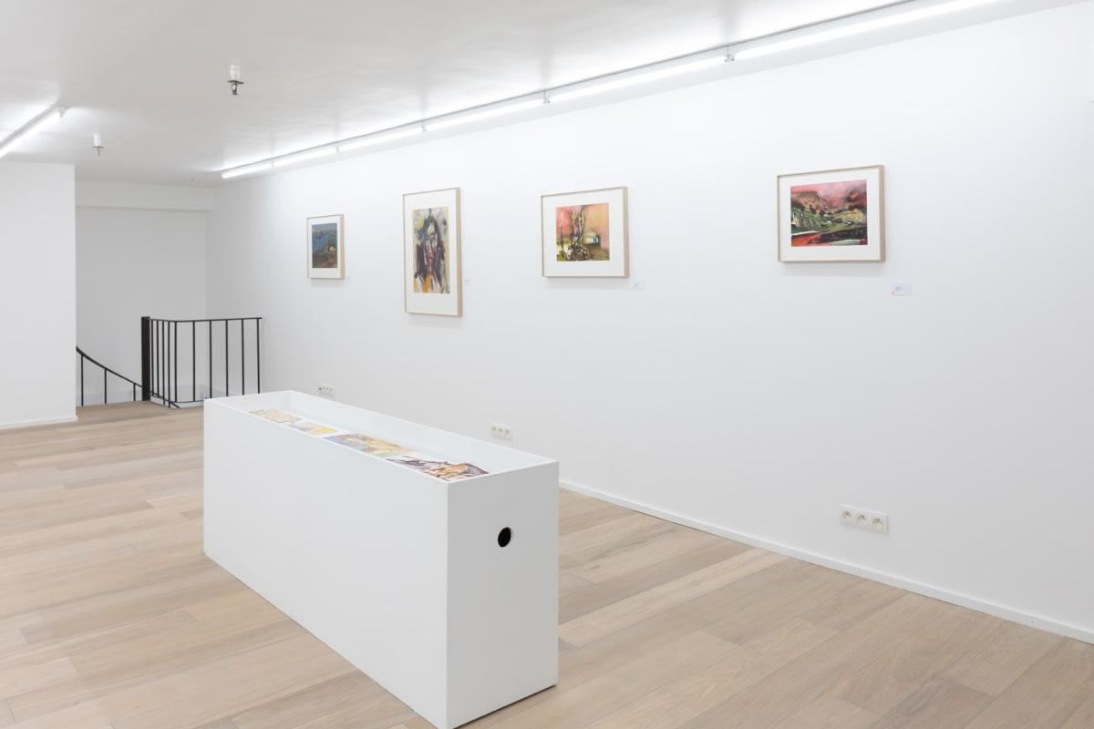 Inge H. SCHMIDT, Faciality - Beyond the Silk Road, 2019, Installation view